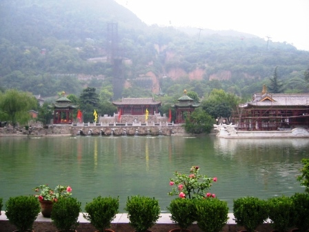 hua qing hot spring