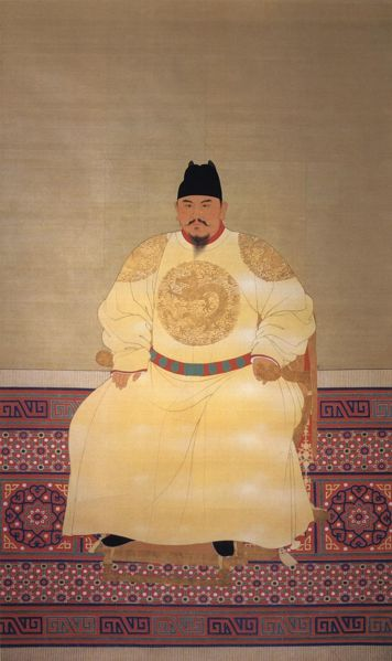 zhu yuan zhang founder of the ming dynasty