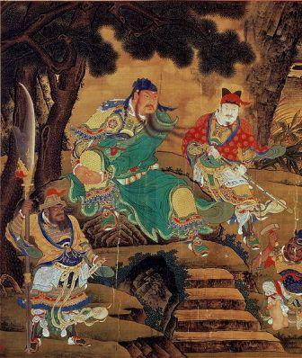 guan gong ming dynasty painting