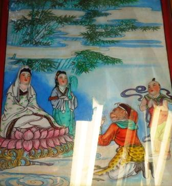 guan yin and monkey god
