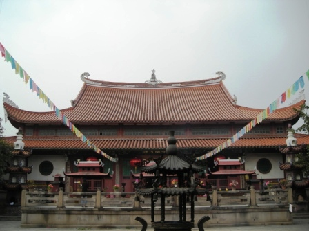 main hall of xi chan si