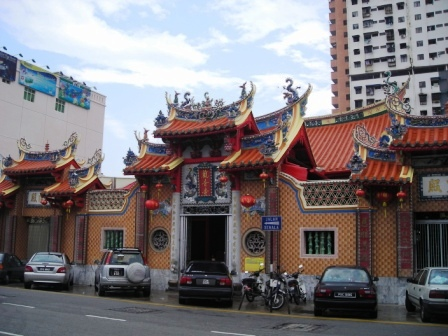 9 emperor god temple in penang