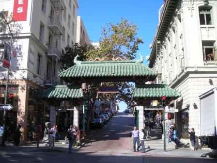 san francisco chinatown archway
