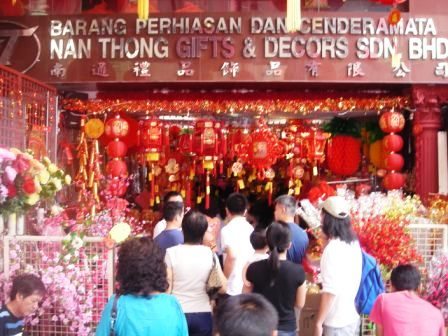 chinese new year in kl chinatown
