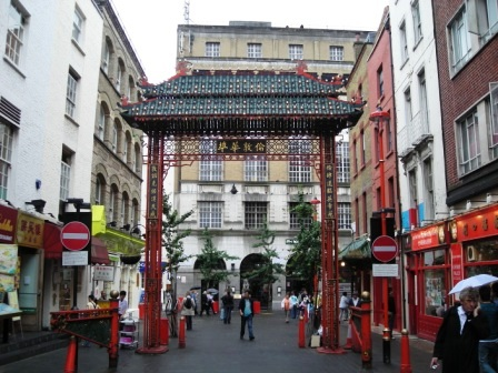 london chinatown archway