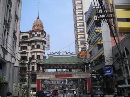 goodwill arch in manila chinatown