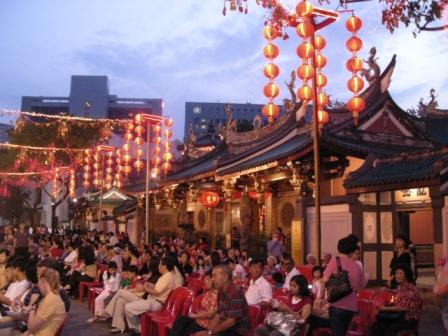 thian hock keng mass wedding