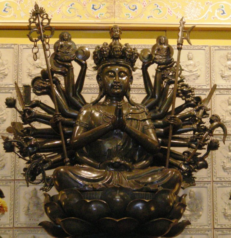 multiple arm guan yin