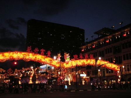 chinese new year singapore chinatown