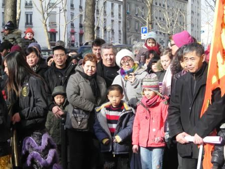 chinese new year in paris chinatown