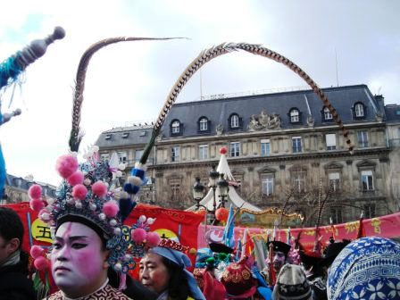 chinese ne wyear parade paris chinatown