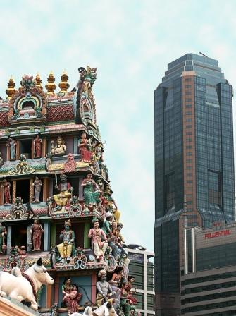 sri mariamman singapore chinatown