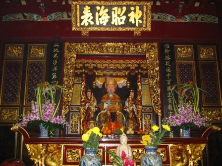 main hall of thain hock keng temple