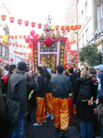 chinese new year celebration in london chinatown