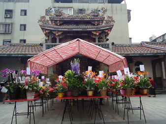 tent for prayers baoan temple