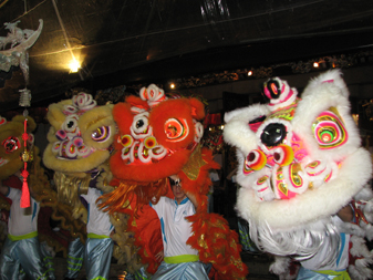 lion dance yr rabbit