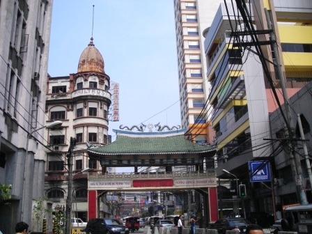 archway in manila chinatown