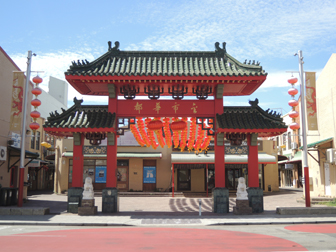 perth chinatown archway