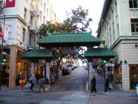 archway in san francisco chinatown